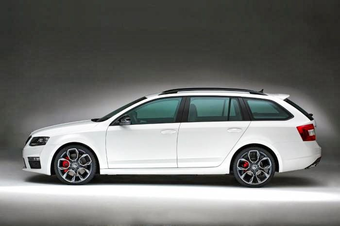 Skoda Octavia VRS - dog car