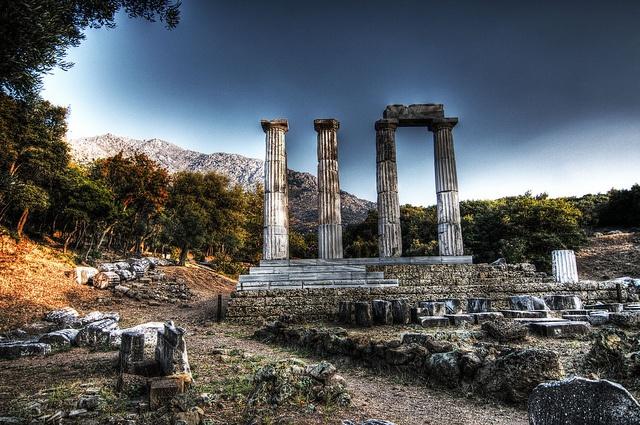 Samothraki... temple of gods | Flickr - Photo Sharing!