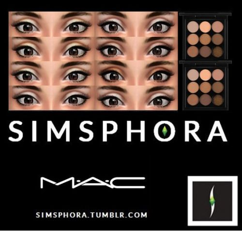 Sims 4 CC's - The Best: Eyeshadow by Simsphora