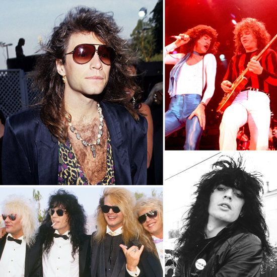 80s bands | Attention Groupies: Hair-Raising Hotties From '80s Glam Metal Bands