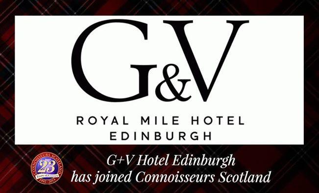 G&V Royal Mile Hotel Edinburgh has joined Connoisseurs Scotland