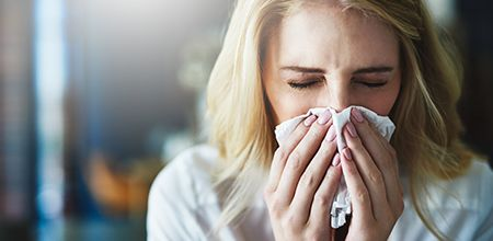 Are you struggling with the particularly nasty flu that's been going around this season? Here are a few quick and easy ways you can help to reduce symptoms of congestion!