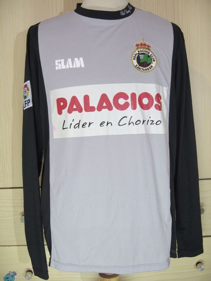 Real Racing Santander Home 2011 Spain La Liga Football L s Shirt Soccer Jersey M | eBay