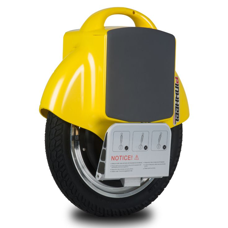 Wholesale PINWHEEL T1 Electric Self Balancing Unicycle Single Wheeled Electric Vehicle Smart Electric Unicycle – yellow