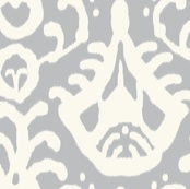 gray cream ikat to upholster our chairs
