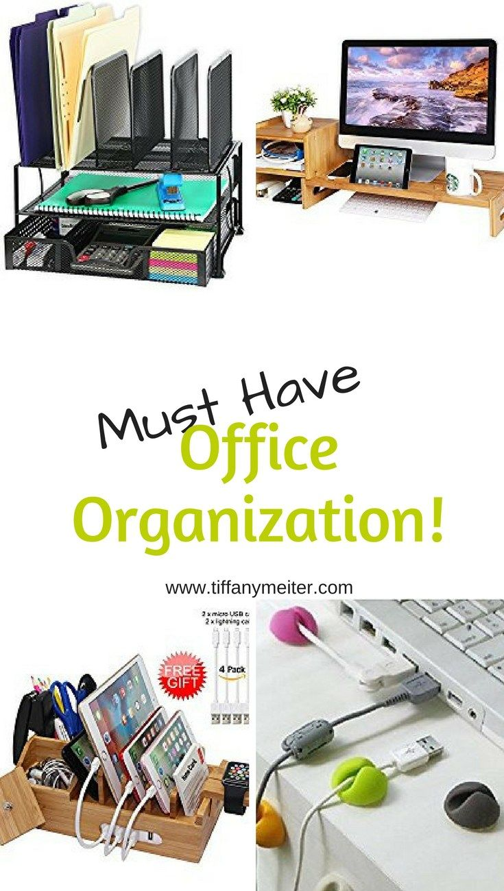 Must Have Office Organization Tiffany Meiter Work Desk Organization Work Space Organization Diy Office Organization