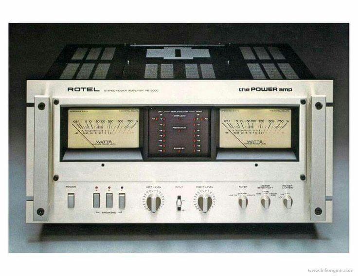 Vintage Audio Rotel Rb 5000 Hi Fi Stereo Vintage Audio