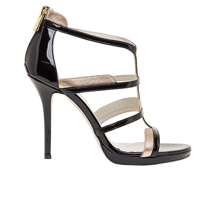 1008B10-BLACK PATENT www.mourtzi.com #sandals #heels #mourtzi #greekdesigners