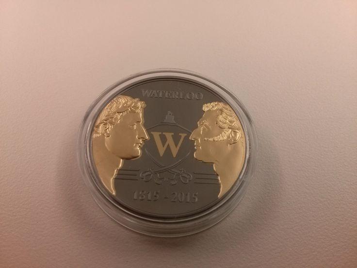 Waterloo- mince vydaná k 200. výročí slavné bitvy