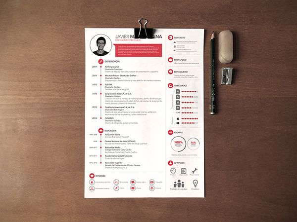 Amazing resume design ... For more resume inspirations click here: http://www.pinterest.com/sheppardaaron/-design-resumes/ ... Creative Resume Design, Resume Style, Resume Design, Curriculum Vitae, CV, Resume Template, Resumes, Resume Format.