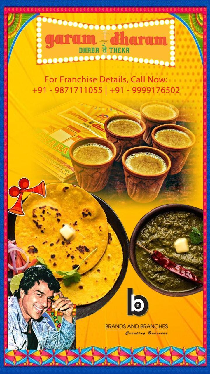 Garam Dharam Franchise Opportunities In India Franchise Food Franchising Franchise Opportunities