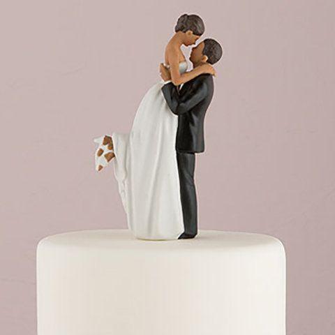 figurine mariage noire so romantic httpwwwinstemporel - Figurine Mariage Humoristique Pas Cher