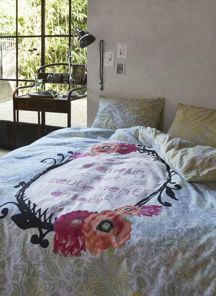 Pościel bawełniana marki PiP Studio. #sypialnia #lozko #posciel #pipstudio #wystrojwnetrz #czerwien #dom #mieszkanie #design #wnetrza #sen #zakupy #sklep #spanie #poduszka #koldra #cottonlovers