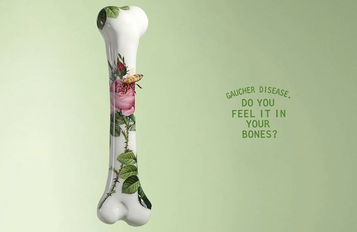 Delicate Awareness Campaign for Gaucher Disease – Fubiz Media