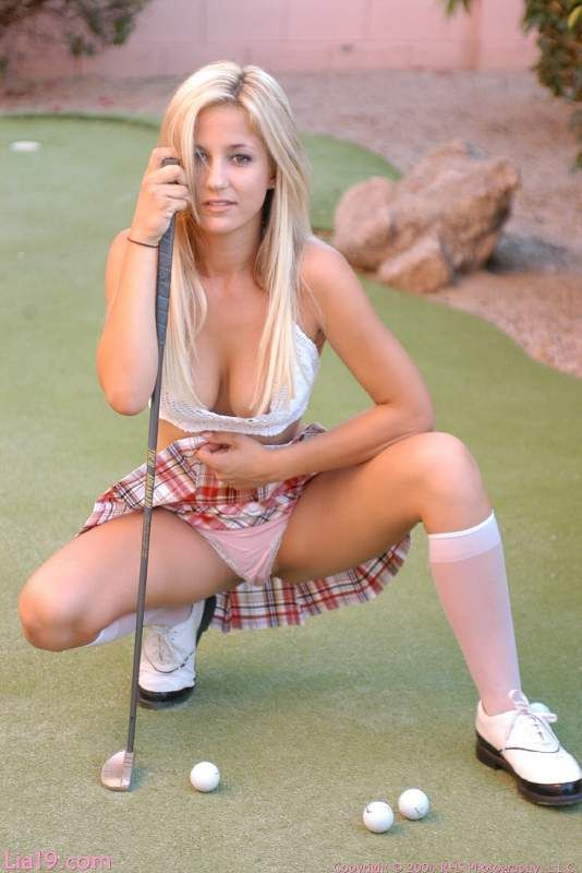 from Gerald young naked golfer girls