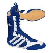 Adidas Tygun II Boxing Boots Royal Blue/White  Tygun II Boxing Boots - Royal Blue/White. Float like a butterfly in this classic boxing boot.  Features:  - New slim, lightweight outsole to keep your feet moving - Two dimensional mesh construction for optimal breathability. - When your feet finally slow down enough to see them, fans will appreciate their snazzy look with unique eye stay overlays.   For more info visit: http://www.gymandfitness.com.au/tygun-ii-boxing-boots-royal-blue-white.html