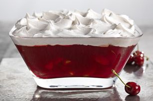 JELL-O Cherry-Pomegranate Dessert recipe