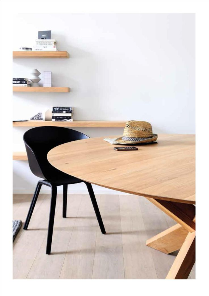 Circle Table- Oak Ethnicraft Collection 2014-2015