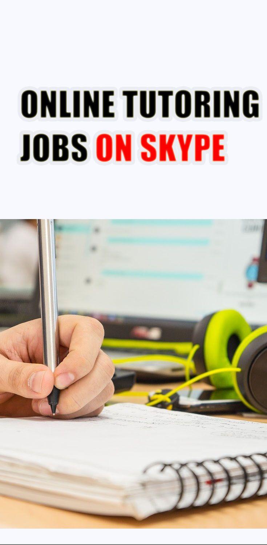 Online Tutoring Jobs On Skype