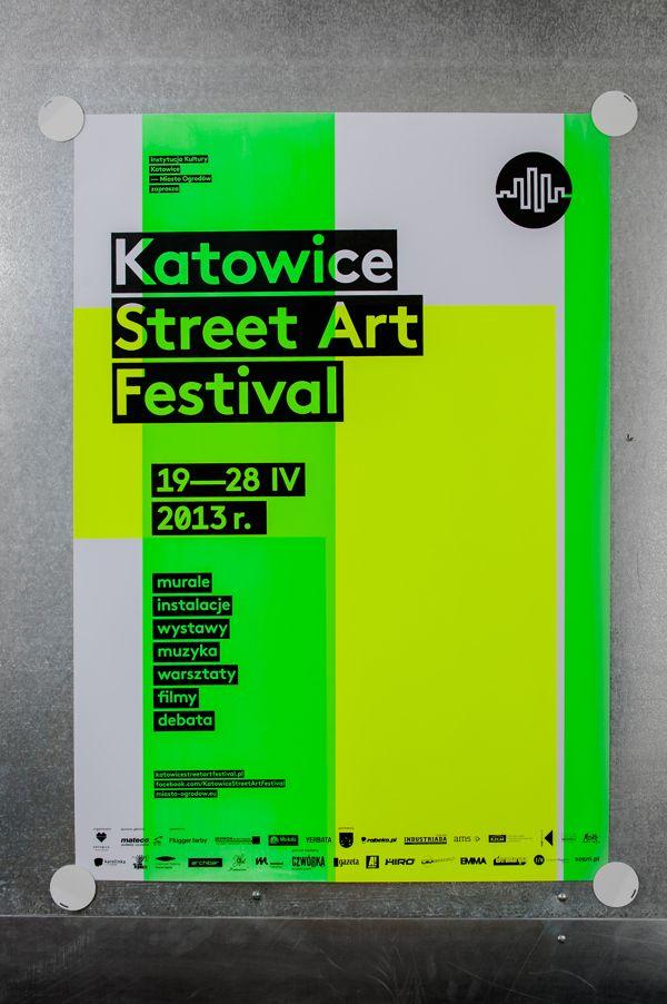 katowice street art festival silkscreen poster series by marta gawin via behance festival postersart festivalgraphic design