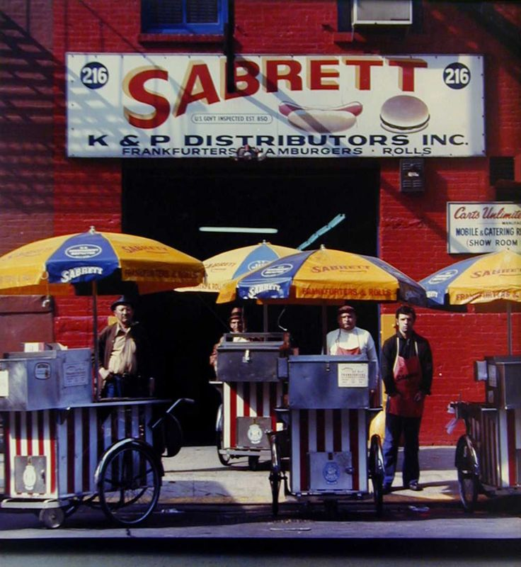 Neal Slavin - Headquarters, Sabrett Frankfurters, New York, N.Y.   1stdibs.com
