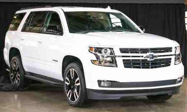 2018 Chevy Tahoe Rst Release Date Chevrolet Suburban Chevy