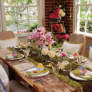 Garden Table Setting Southern Living by Proper Hunt via Flickr & 214 best Easter Table Decoration Ideas images on Pinterest | Easter ...