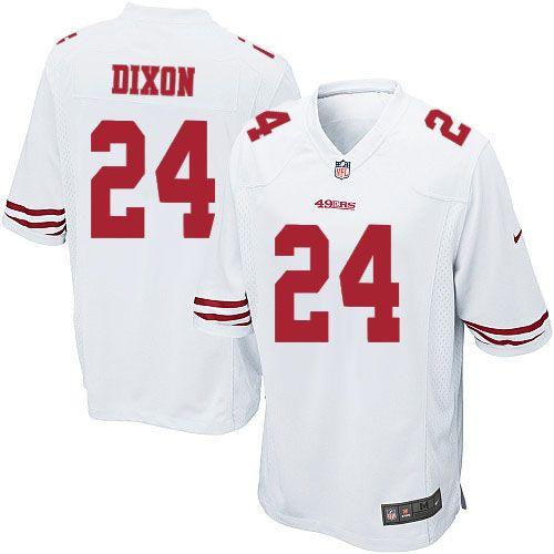 8d9e009fce6 ... uk youth nike san francisco 49ers 24 anthony dixon limited white nfl  jersey sale nfl jersey