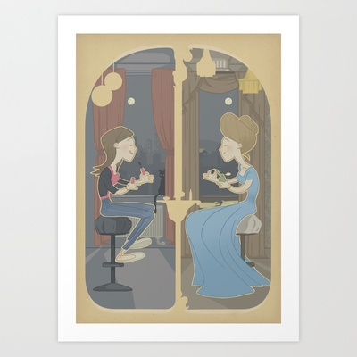 Through The Ages Art Print by herospy - $16.00