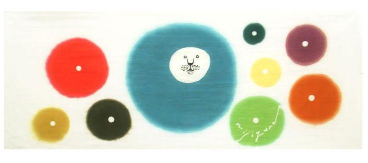 TENUGUI 'stories of constellations (Leo)' designed by wassa