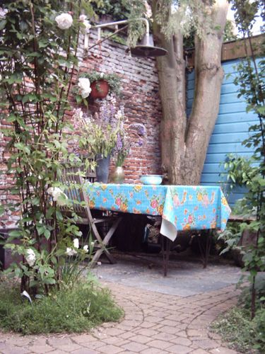 rustieke tuin