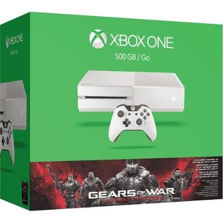 Xbox One White 500GB Gears of War Special Edition Console ...