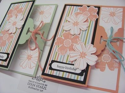 Scalloped Tag Topper Punch closure cardClosure Cards, Cards Ideas, Flower Shops, Tags Toppers, Scallops Tags, Tags Punch, Punch Cards, Punch Closure, Toppers Punch