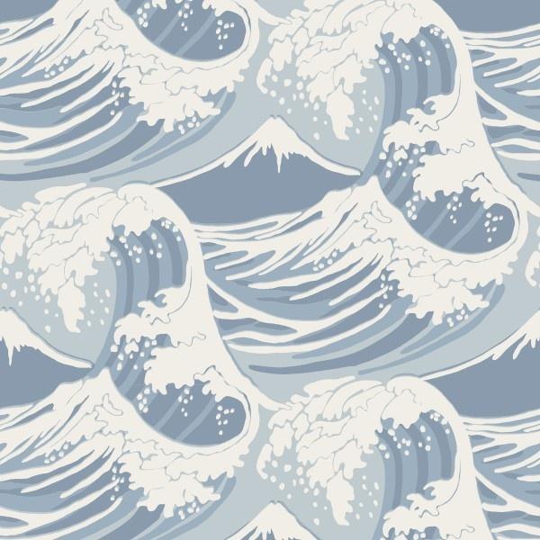 ❤Papier peint Great Wave - Cole and Son