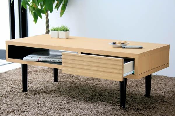 モチーフは「和」。凛とした佇まいが美しい、リビングテーブルです。