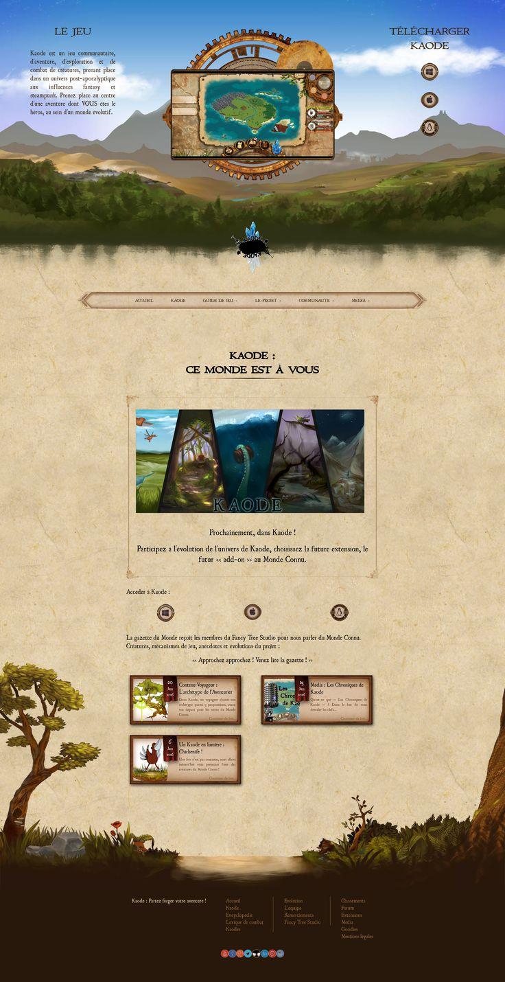 """Bientôt, le nouveau site de Kaode sera en ligne ! Retrouvez-nous sur Kaode.fr, et n'hésitez pas à voir les changements avec notre dernière version du site ^^.  #Kaode #FancyTreeStudio #rpg #gamebook #combat #creature #collection #adventure """"fantasy # steampunk #postapocalyptic #indiegame #indiedev #indiedev #indiestudio #livrejeu #french #jeuvidéo #videogame #videogames #artwork #gameart #pcgame #javascript #gamedesign #comingsoon  #website #communication"""