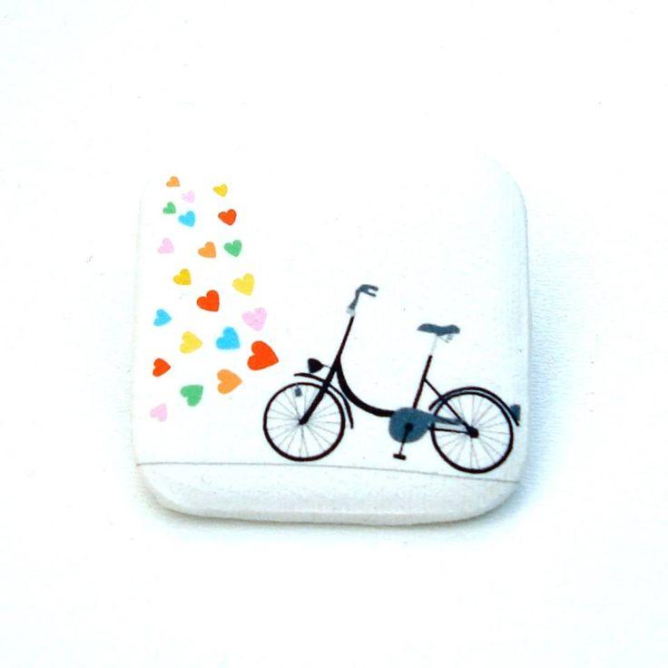 Lovebike- brooch http://caleidostore.com/designers/rosehip/