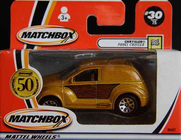 Model Matchbox Chrysler Panel Cruiser