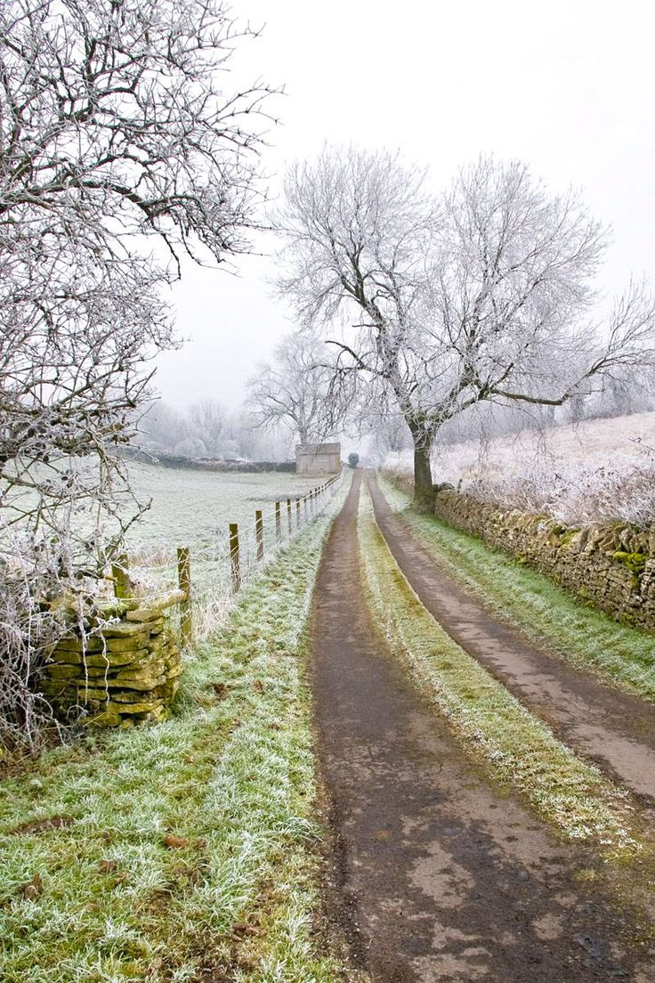 Winter in the Cotswolds (England) by IanW Stokes