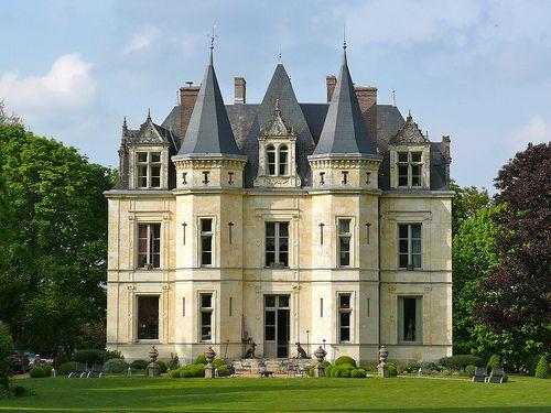 Chateau de la Virrerie...another perfect house...