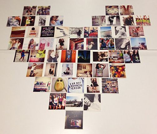Do It Yourself Shape A Collage And Easy Diy