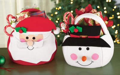 Christmas Holiday Treat Gift Bags