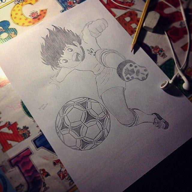 Oli  @olitorres30 #oliver#tsubasa#benji#oli#olivertorres#olivertorres30#football#draw#player#anime#cute#ball#play#byme#remmember#fan#nanadrawcollection