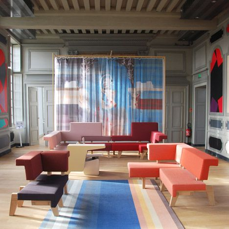 Studio Makkink & Bey furnish research centre<br /> in former Hôtel Dupanloup