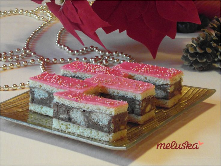 Meluska házi sütödéje - Tanulj velem sütni!: Rózsaszín, rumos sütemény