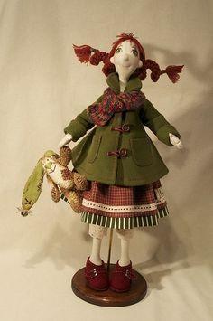 Коллекционные куклы ручной работы. Ярмарка Мастеров - ручная работа Маргоша. Handmade.