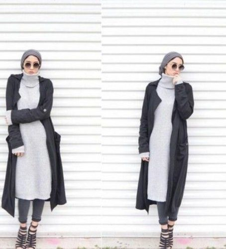 long cardigan with long sweater,How to get hijab trendy looks http://www.justtrendygirls.com/how-to-get-hijab-trendy-looks/