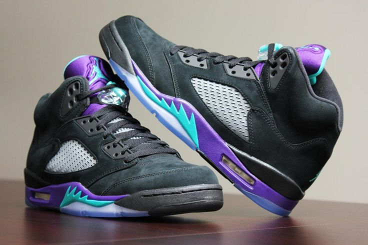 Air Jordan 5 Black Grapes