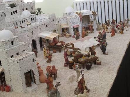 2321 best belenes images on pinterest models dioramas for Case in stile adobe