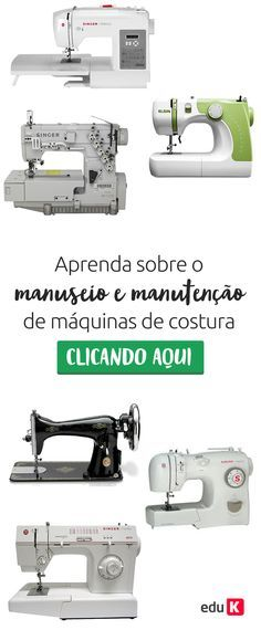 Que tal economizar no concerto da máquina de costura? Aprenda a concertar sua própria máquina! Clique na imagem que o Yuji te ensina ;)